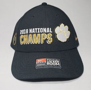 Nike Clemoson Tigers Championship Strapback Hat